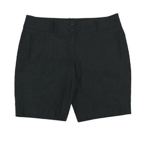 Ann Taylor Loft Denim Look Bermuda Shorts Size 12
